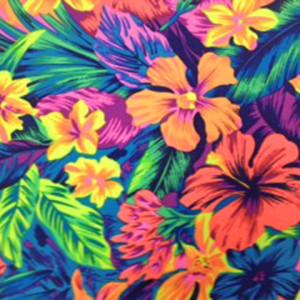 Hawaiian Floral Print | Tahitian Floral