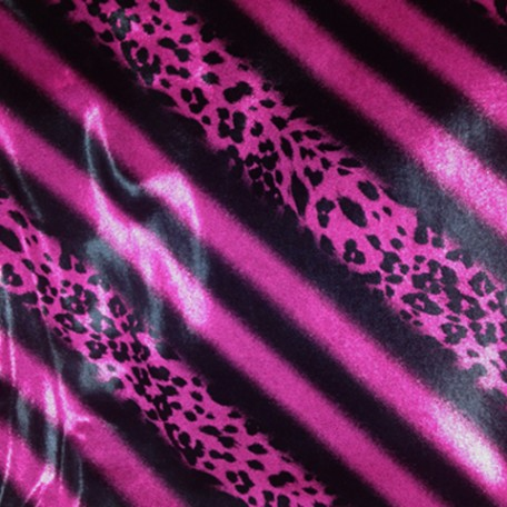 Shiny Animal Print | Double Foil Animal Stripes