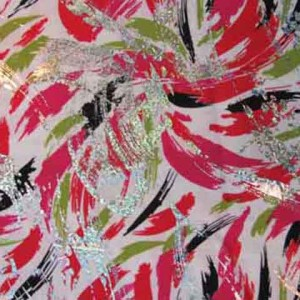 Brushstrokes with Foil