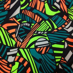 Abstract Animal Print | Zebra Stripe Patchwork Print