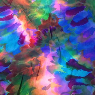 FTP152C1   Tie Dye Feathers