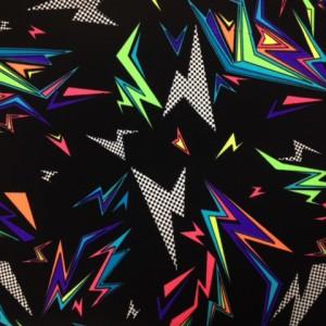 Colorful Lightning print