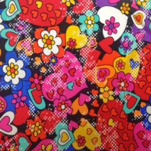 Colorful Heart Print | Graffiti Heart