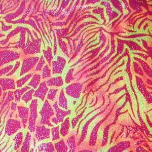 Metallic Prints Nylon Tricot 31