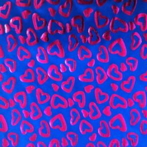 Heart Pattern Fabric | One Love