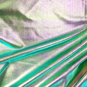 Metallic Multi Color Spandex | Metallic Stretch Denim Fabric