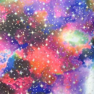 Galaxy print fabric| Star Storm