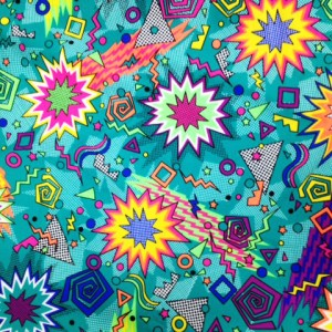 Colorful Explosion Fabric | Zack Attack