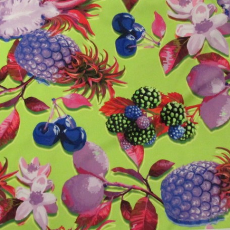 Fruit Pattern Fabric| Floral and Fruit