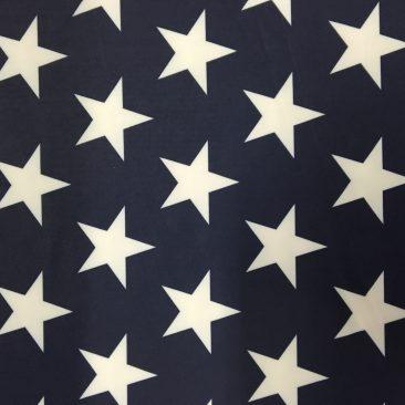LTP^SCP343-58 | Big White Stars On Navy