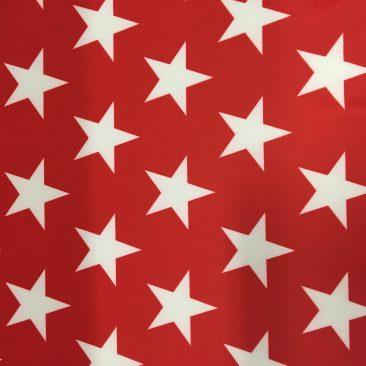 LTP^SCP343-95 | Big White Stars On Red