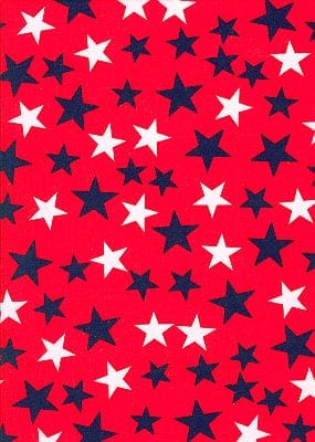 LTP^SCP337-95 | Royal/White Stars On Red