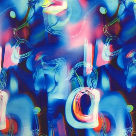 Blown Glass Spandex Print | Liquid Glass