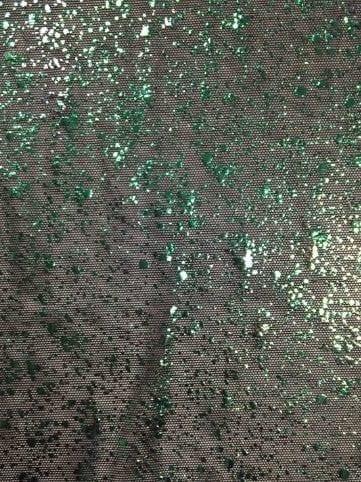 Black Splatter Mesh Spandex, Splatter mesh, Black mesh