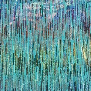 Bright Sparkle Foil Spandex