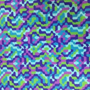 Neon Digital Puzzle Print