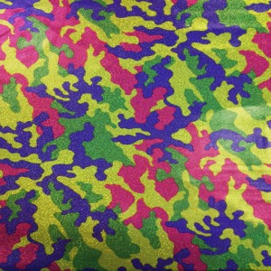 Colorful Camo Printed Spandex | Bright Camo (more colors)
