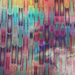 Abstract Pastel Hologram