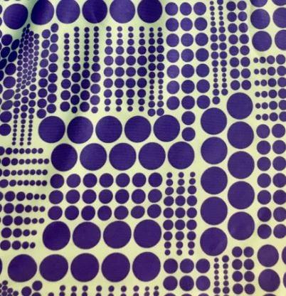 Mod dot print fabric, Mini Mod Dot fabric, vintage mod fabric