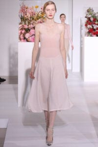 jill sander fall ready to wear rtw 2012 pink dress cococozy style dot com
