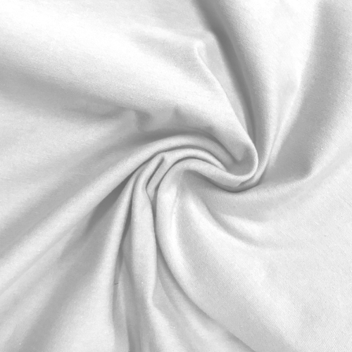Interlock Bow Cotton Fabric, white fabric, cotton fabric, white cotton fabric