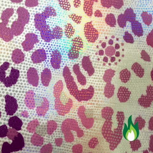 hologram cheetah spandex, Glitter jungle hologram spandex, cheetah print fabric