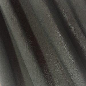 Solid Black matte Tricot Spandex Fabric