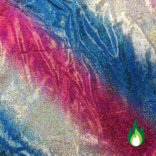 Patriotic Blur Spandex, Patriotic fabric, America fabric, ombre fabric