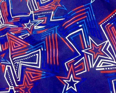 Maze runner red white and blue