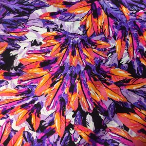 Bright Vivid Feathers Print