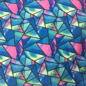 Geometric Tie Dye