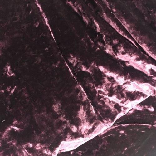 Burgundy Crushed Velvet Spandex, crushed velvet fabric, burgundy fabric