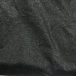 Dark Paisley Spandex