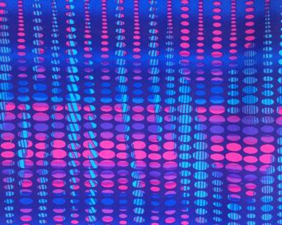 Electric Pulse | Multi Colored Fabric