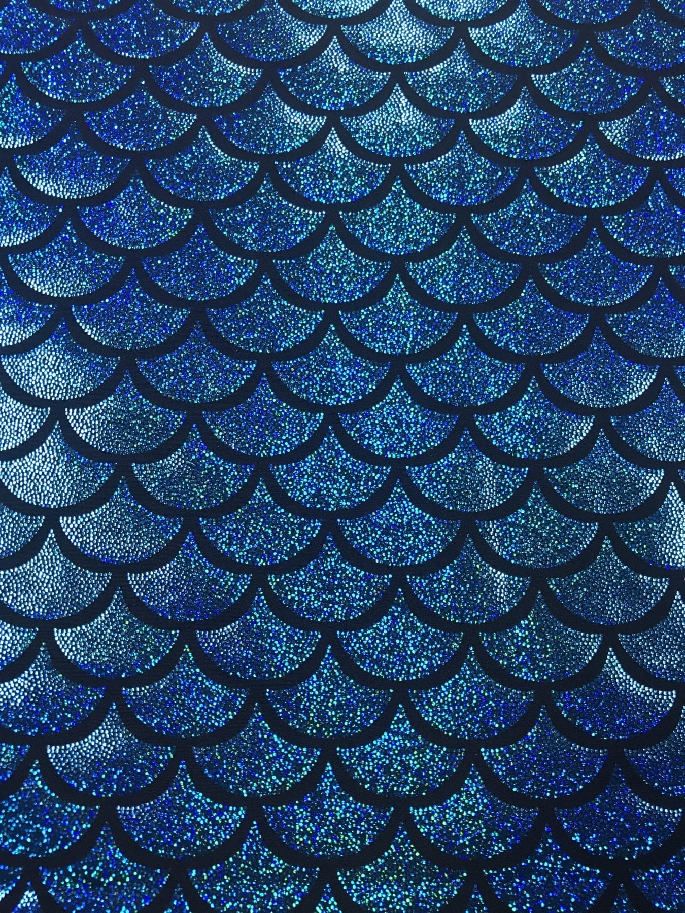 Ariel Sparkle Mermaid Scales Pine Crest Fabrics