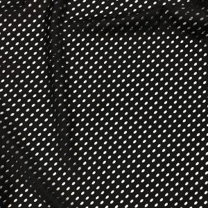 Cationic Poly Black Oval Punch Mesh