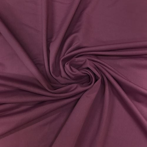 Deep Pomegranate Olympus Spandex, red fabric, burgundy fabric, muted hue fabric, burgundy fabric