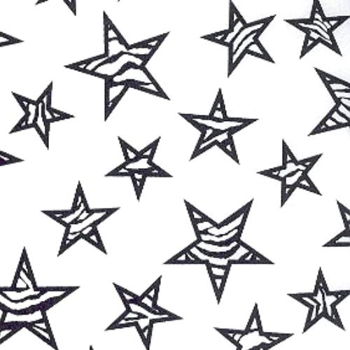 Zebra Stars Print, Zebra Print Stars printed spandex, zebra print fabric, star fabric