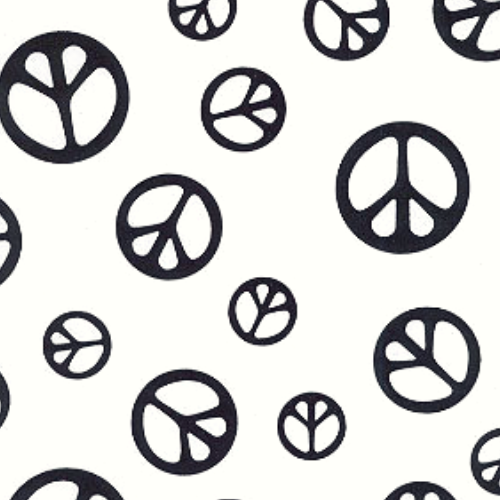Peace Sign Print , Peace Sign Spandex Print, peace fabric, peace sign fabric