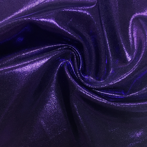 Amethyst Jewels Spandex, flat foil fabric, purple fabric, dance fabric, gymnastics fabric, shiny purple fabric