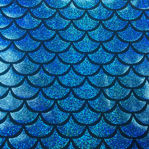 Turquoise Ariel Sparkle Spandex, Blue Sparkly Mermaid Scale Spandex, mermaid scale spandex, blue fabric, sparkly mermaid scale fabric, mermaid scale fabric, mermaid fabric