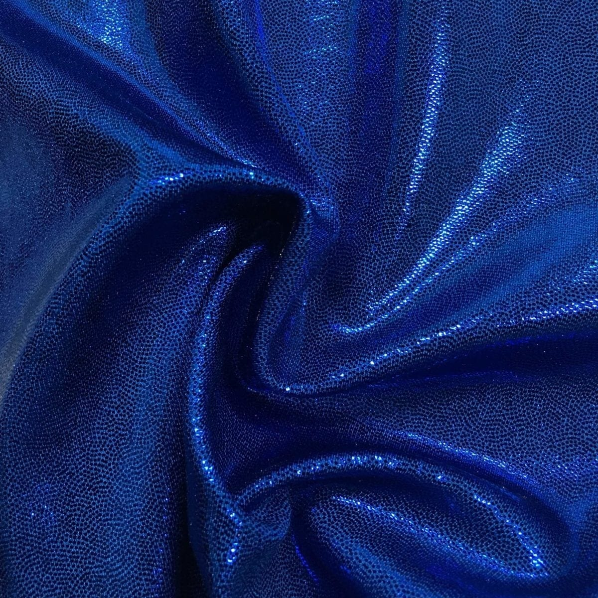 Lapis Lazuli Jewels Spandex, flat foil fabric, blue fabric, shiny blue fabric, dance fabric, gymnastics fabric