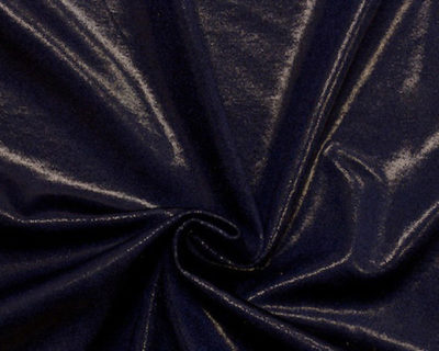 flat foiled tricot, sapphire flat foiled tricot, flat foiled spandex tricot, flat foiled spandex fabric, flat foiled spandex