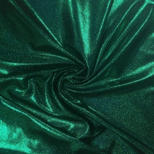 Green Sparkly Jewels Spandex, sparkly hologram fabric, hologram fabric, green fabric, gymnastics fabric, dance fabric