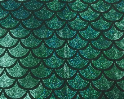 Green Mermaid Scale Holographic Spandex, mermaid scale fabric, mermaid scale spandex, hologrpahic mermaid scale, sparkly mermaid scale fabric, mermaid fabric sparkly, stretchy mermaid scale fabric
