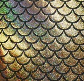 Gold Ariel Sparkle Spandex, Gold Sparkly Mermaid Scale Spandex, mermaid scale spandex, Gold fabric, sparkly mermaid scale fabric, mermaid scale fabric, mermaid fabric
