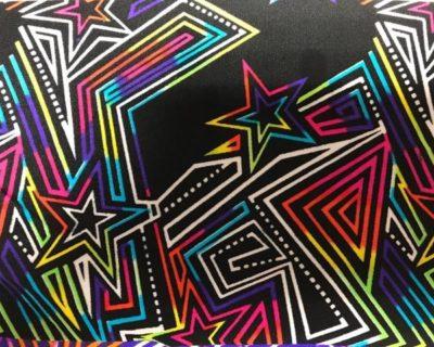 Maze Runner | Multi Retro Fabric