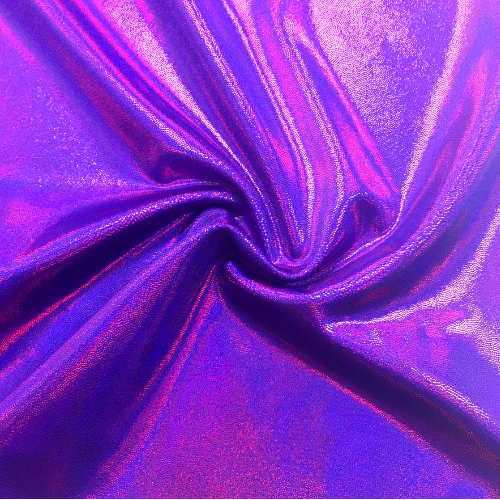Grapeade Starlet Holo Spandex, purple fabric, sparkly purple fabric, dance fabric, gymnastics fabric,