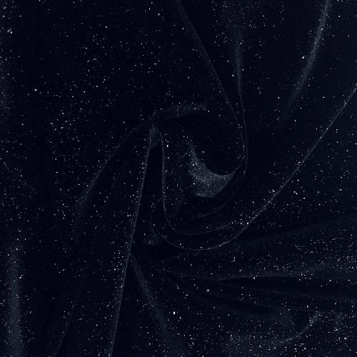Black Twinkle Velvet Spandex, velvet fabric, black velvet fabric, black fabric, glitter fabric