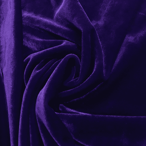 Purple Radiance Velvet Spandex, purple velvet, velvet fabric, purple fabric, purple velvet fabric